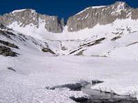 Mount Abbot (left), Petit...