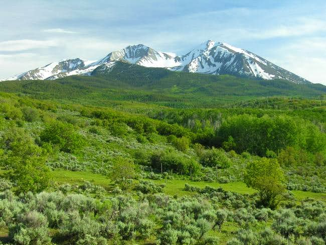 Mount Sopris shows off in...