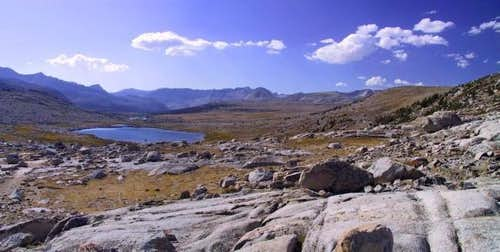 Paiute Pass - Panoramic View