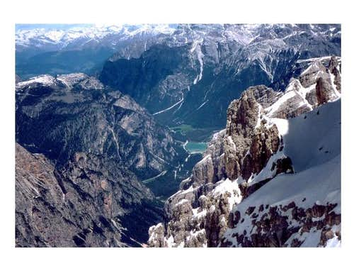 View from Forcella del...