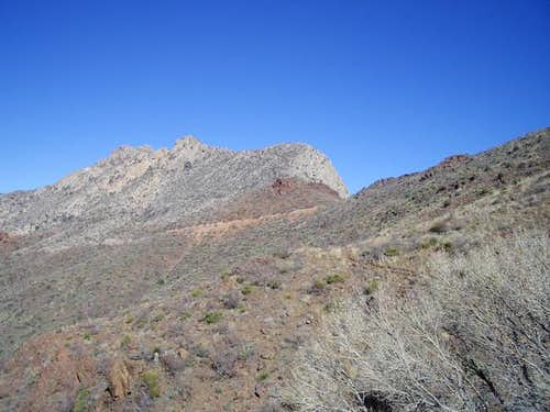 A view of Mundy's Gap from...
