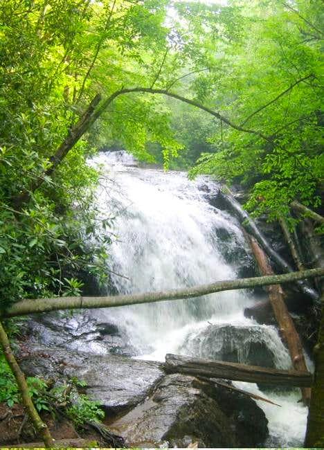 Mooney Falls, near the base...