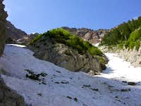 This is near 8500' where the...