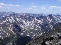 a view from the summit on...