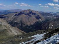 Mount Elbert from the summit...