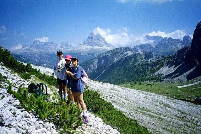 Val Popena Alta - in...