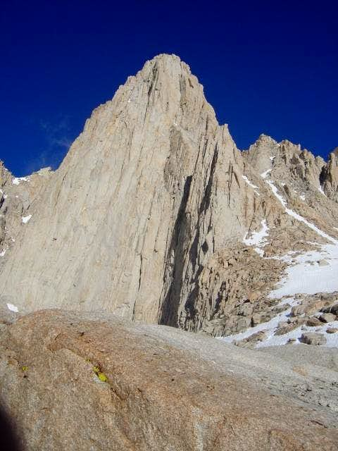 Whitney\'s false summit from...
