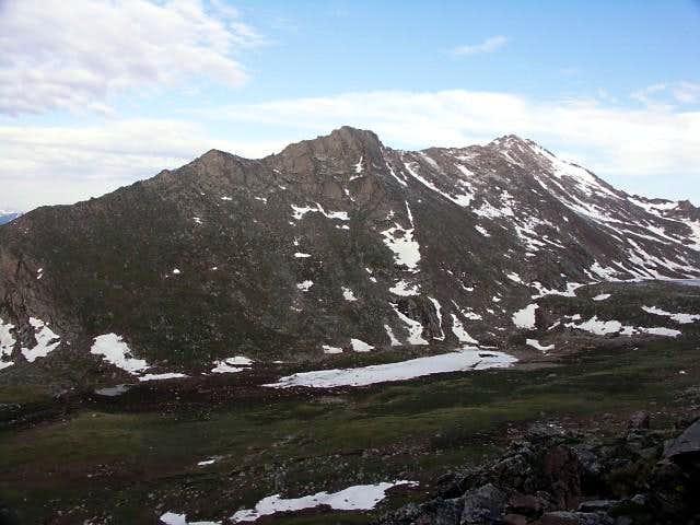 The East Ridge of Mount Bierstadt