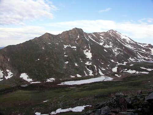 The East Ridge of Mount Bierstadt
