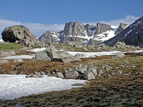 The Sawtooth Ridge of Mount Evans