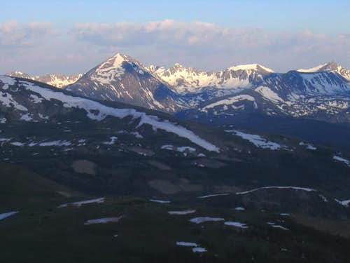 Quandary Peak is the most...