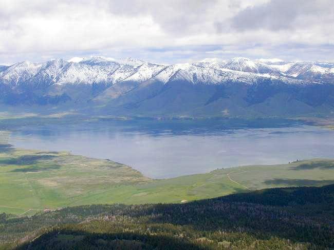 Northern summit view- Henrys...
