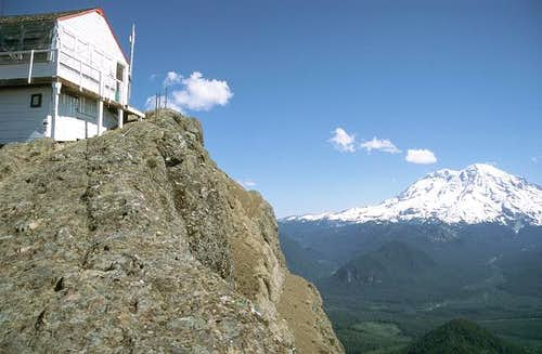 The High Rock lookout and Mt....