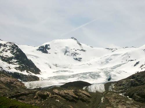 Punta Cadini from Refuge Branca