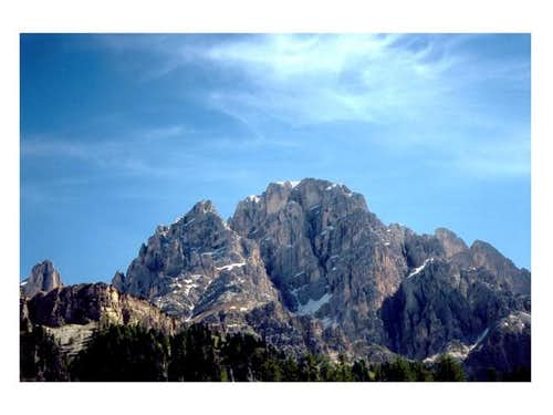 Monte Cristallo from S-W, May...