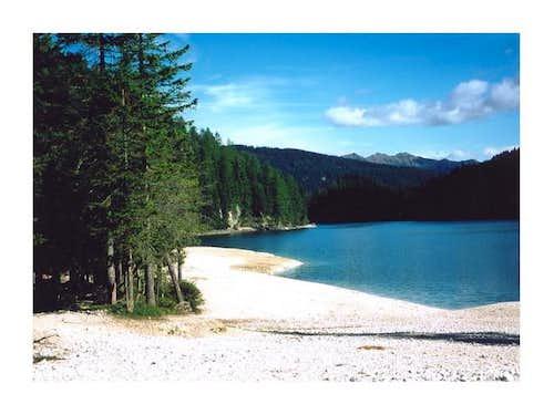 Pragser Lake from S,...