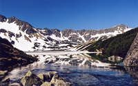 Mountain lakes of the High Tatras