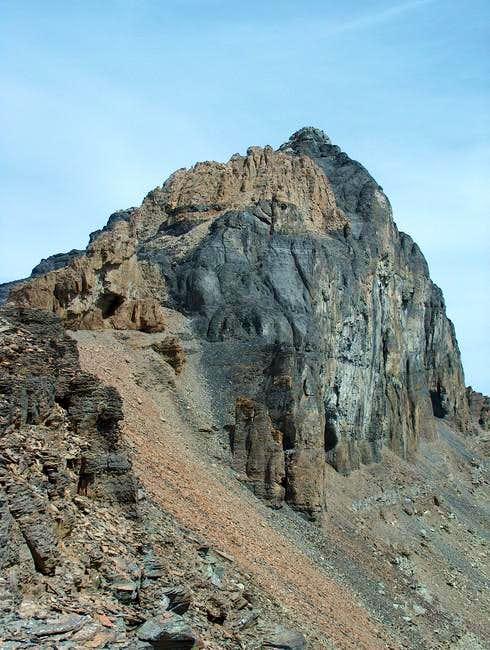 The South Ridge of Mt....