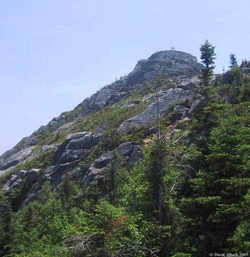 Chocorua\'s summit block, from...