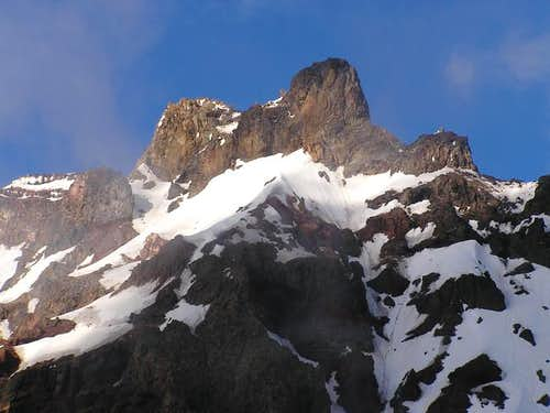 Close up of the summit...