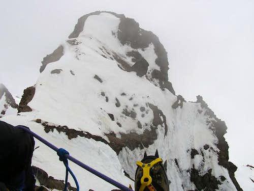 Kicking back on the summit...