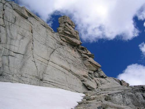 South face, the easy route...