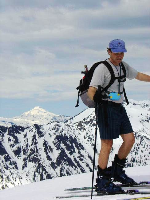 On the summit of Arrowhead...