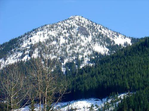 View of Arrowhead Mountain...