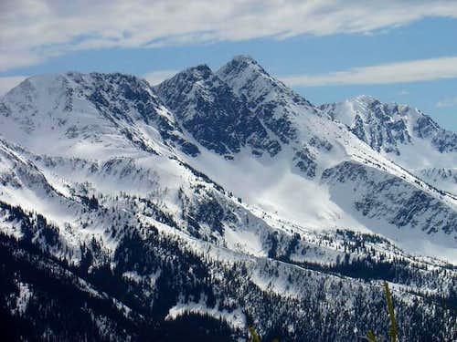 View of Big Chiwaukum,...