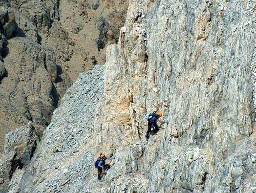 Ascending the Rocky Ledges...
