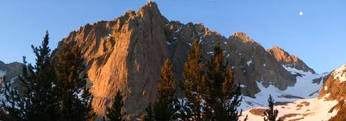 Panorama view of Temple Crag...