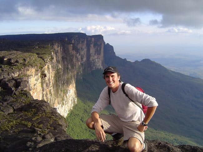 At Roraima's highest point,...
