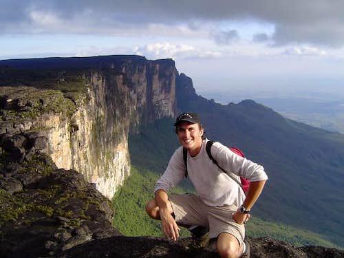At Roraima's highest point,...