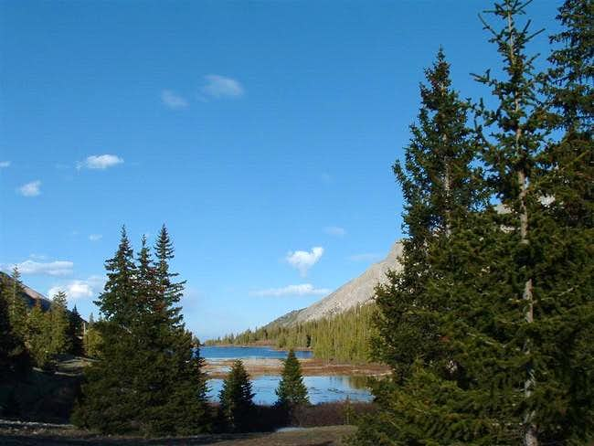 Brown's Lake seen in the...