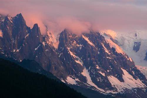 Aiguilles de Chamonix at...