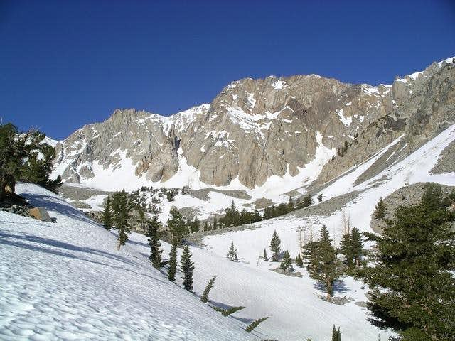 View of east face of Mt...