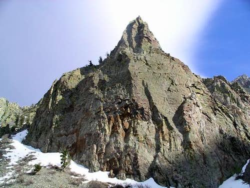 Needle-like ridge near start...