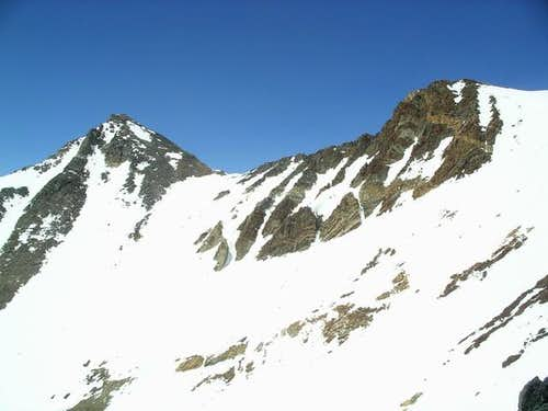 South ridge of Pinchot...