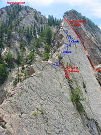 Upper Part of Kamps Ridge...