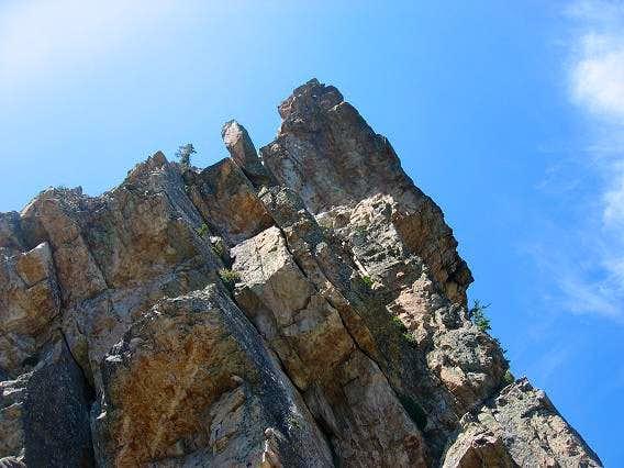 Lower part of Kamps Ridge .