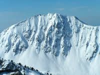 Northeast face of Lone Peak....