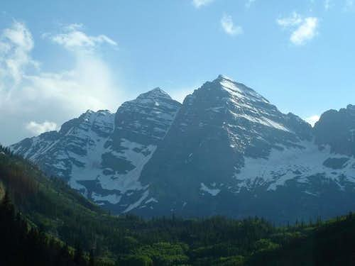 The Maroon Bells, the...