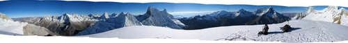 360° Panorama from the summit...