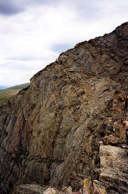 "On the ""Sawtooth Ridge"" from..."