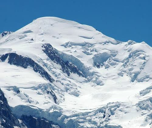Mont Blanc : northern side....