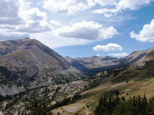 Taken from Hoosier pass,...