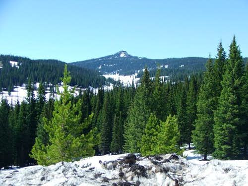 Pagoda Peak from west of...