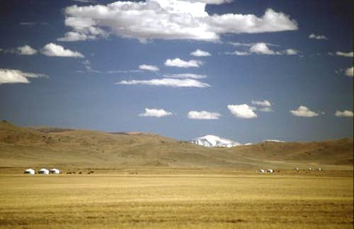 A view of Otgon Tenger from...