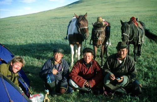 Mongolian nomads visit our...
