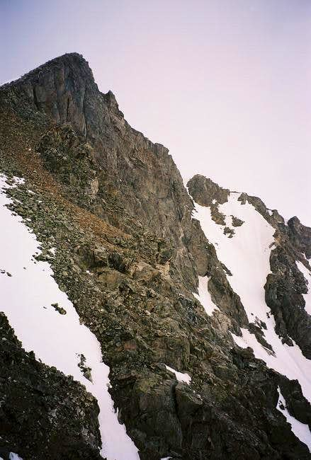 The North Face (and lower N....